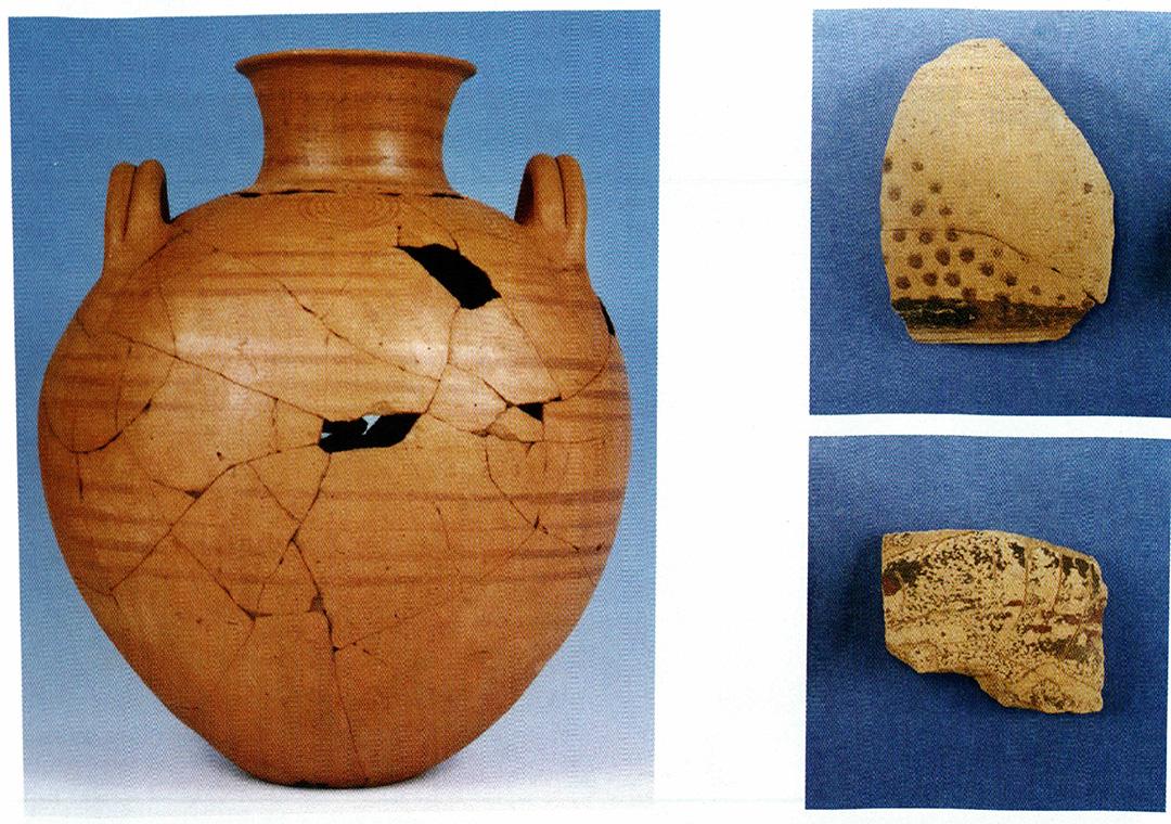 Κεραμική της εποχής του σιδήρου από την Ιερισσό