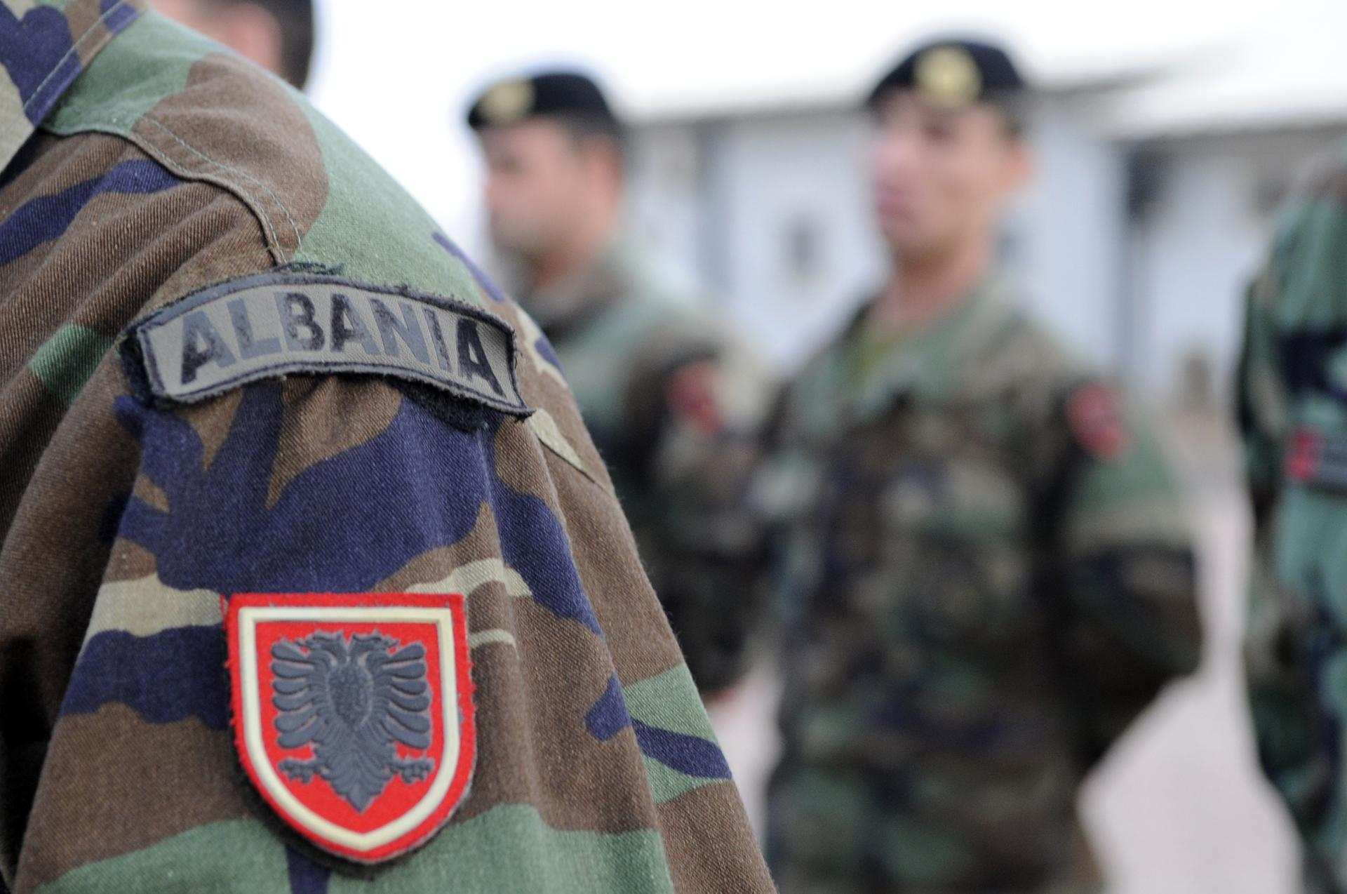 albanian army
