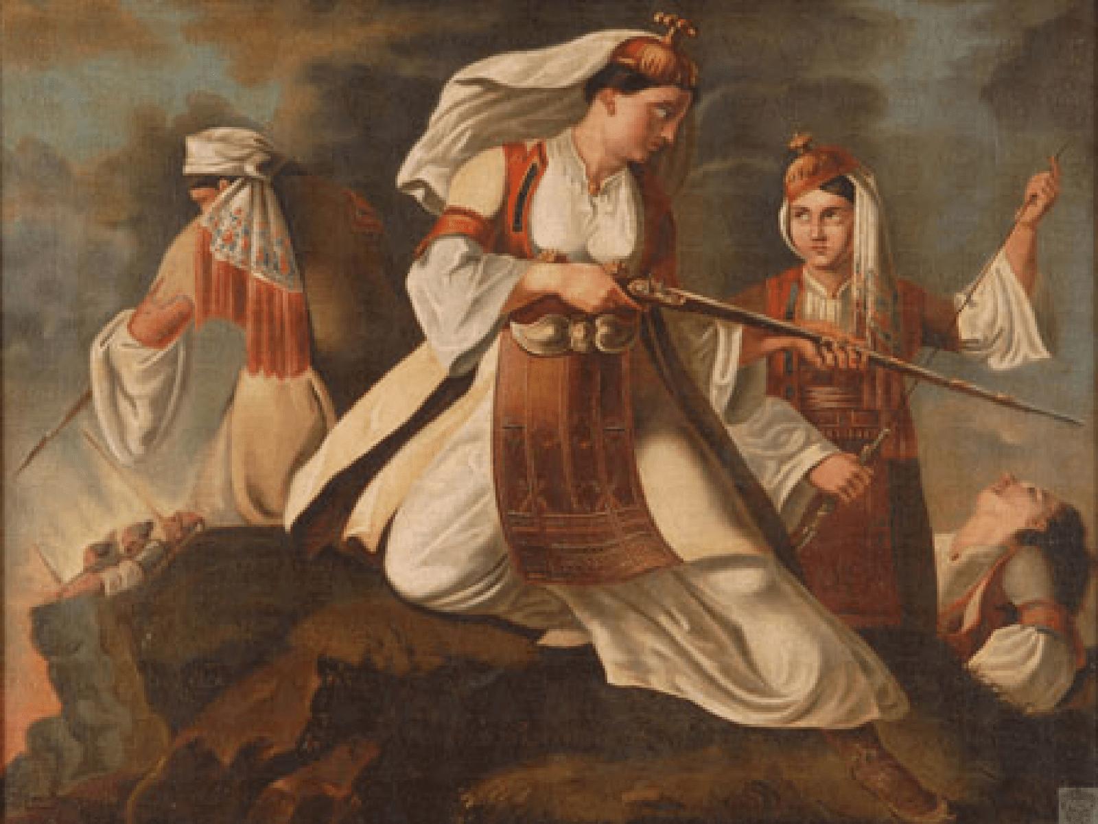 Γεώργιος Μηνιάτης, «Σουλιώτισσες»