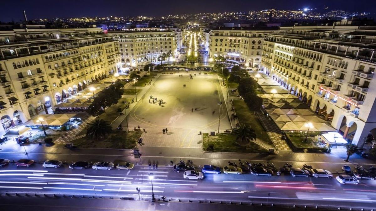 Η Πλατεία Αριστοτέλους ανάμεσα στις 15 ωραιότερες πλατείες στον κόσμο